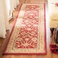 Handmade Ancestry Tan/ Ivory Wool Rug (9&#39;6 x 13&#39;6)