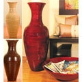 36-inch Bamboo Tall Floor Vase