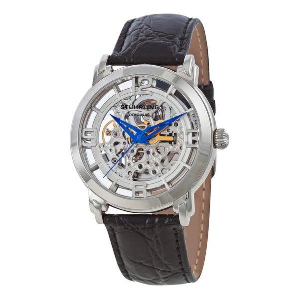 Stuhrling Original 'Winchester' Skeleton Automatic Watch