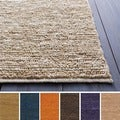Hand-woven Chapra Natural Fiber Jute Rug (5&#39; x 8&#39;)