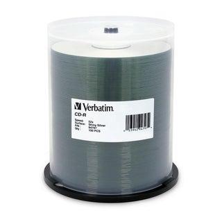 Verbatim 94797 CD Recordable Media - CD-R - 52x - 700 MB - 100 Pack S