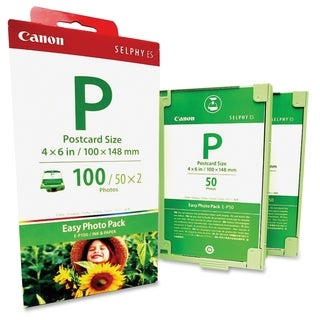 Canon E-P100 Photo Pack For Selphy ES1 Printer
