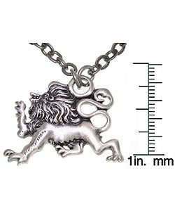 CGC Lion Of Protection Pewter Unisex Necklace