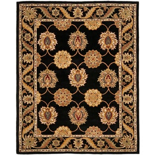 Safavieh Handmade Heritage Mahal Black Wool Rug (8'3 x 11')