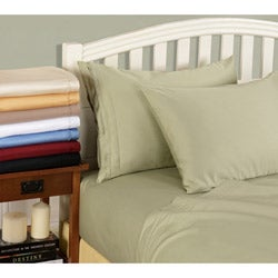 Simple Elegance Egyptian Cotton 800 Thread Count Solid Sheet Set