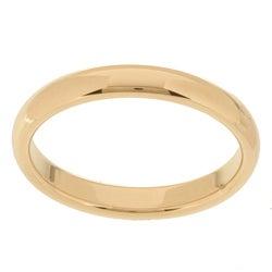 10k Yellow Gold Women's Comfort Fit 3-mm Wedding Band
