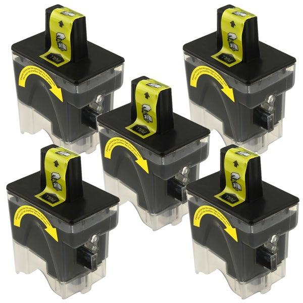 Brother LC41BK Compatible Black Ink Set 5-pack
