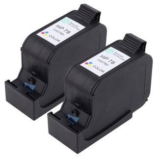 HP 78 Remanufactured Tri-color Ink (Set of 2)