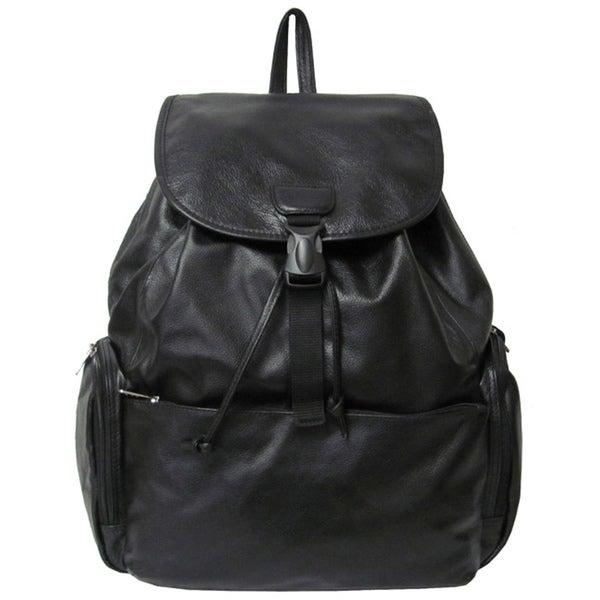 Amerileather Leather Jumbo Backpack