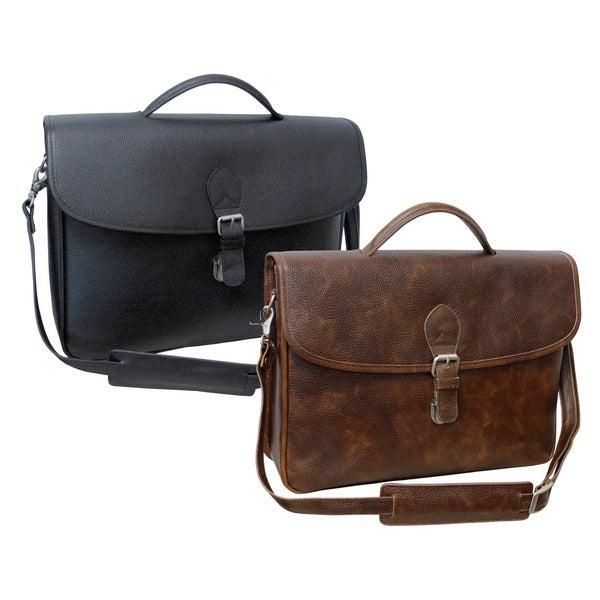Amerileather Montana Leather Executive Briefcase