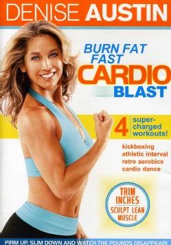 Denise Austin: Burn Fat Fast Cardio Blast (DVD)