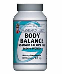 Grandma's Herbs Body Balance Supplement (100 Capsules)