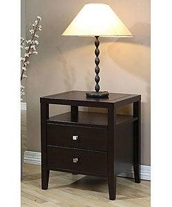 Aristo 2-drawer Nightstand