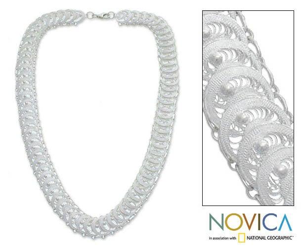 'Full Moon Magic' Necklace (Indonesia)