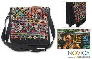 Cotton 'Hmong Pride' Shoulder Bag (Thailand)