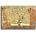 Gustav Klimt 'The Tree of Life' Stetched Canvas Art