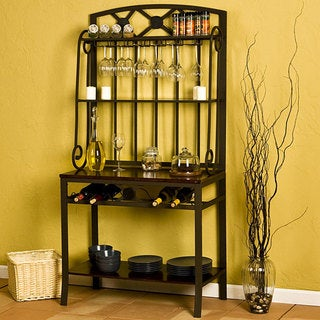Upton Home Decorative Bakers/ Wine Storage Rack