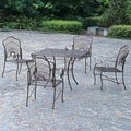 Sun Ray Five-piece Iron Lawn Furniture Set