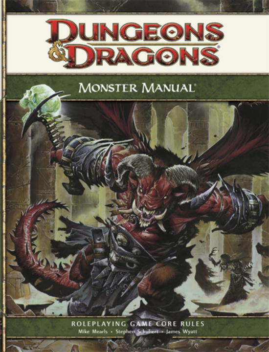 Monster Manual: Roleplaying Game Core Rules (Hardcover)