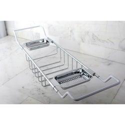 Chrome-plated Brass Tub Shelf