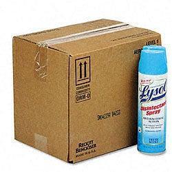 Professional Lysol II Disinfectant Spray - 12/Carton