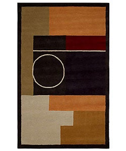 Hand-tufted Rosita Wool Rug (8' x 10'6)