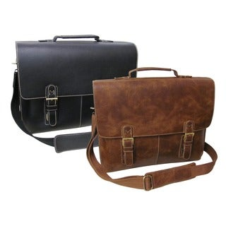 Amerileather Classical Leather Organizer Briefcase