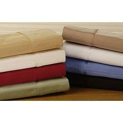 Egyptian Cotton 800 Thread Count Striped Pillowcase Set