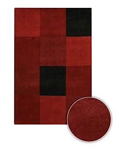 Handmade Contemporary Mandara Rug (8' Round)