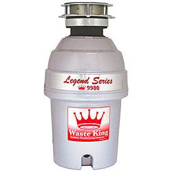 Waste King Legend 9980 1 Horsepower Garbage Disposer