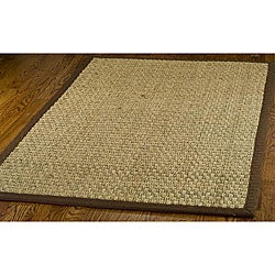 Safavieh Hand-woven Sisal Natural/ Brown Seagrass Rug (9' x 12')