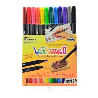 Le Plume II 12-pack Marker Set