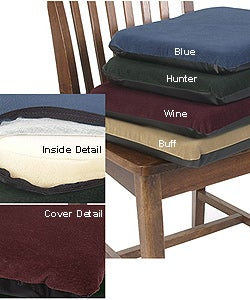 Sueded Memory Foam Non-slip Seat Cushion