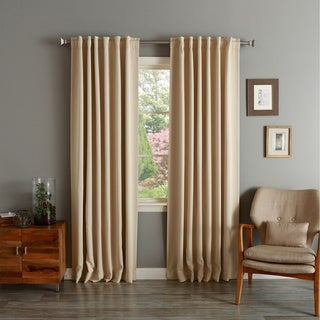 Insulated Thermal Blackout 84-inch Curtain Panel Pair