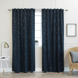 Lights Out Star Struck 84-inch Insulated Thermal Blackout Curtain Pair