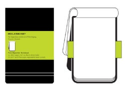 Moleskine Plain Reporter Notebook (Notebook / blank book)