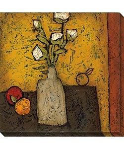 DeRosier 'Modern Vase & Flowers II' Canvas Art