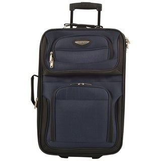 Travel Select by Traveler's Choice TS6950 Amsterdam 21-inch Lightweight Carry On Upright Suitcase