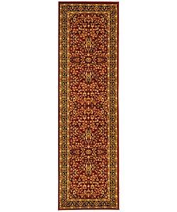 Safavieh Lyndhurst Persian Treasure Red/ Black Runner (2'3 x 12')