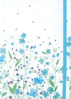 Blue Flowers Journal (Notebook / blank book)