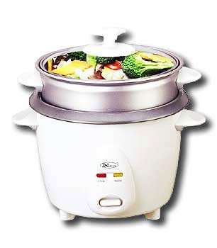 Non-stick 3-cup Rice Cooker/ Steamer