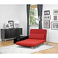 Anise Red Convertible Chair / Bed