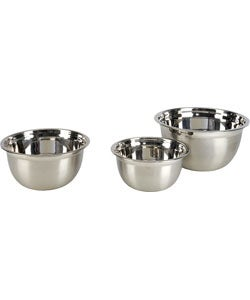 Stainless Steel Mixing Bowls (Set of 3)