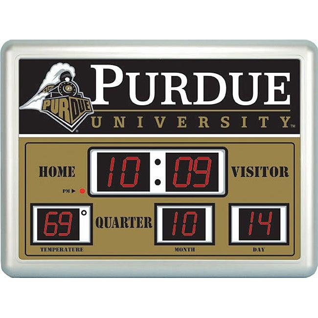 Purdue University Scoreboard Clock
