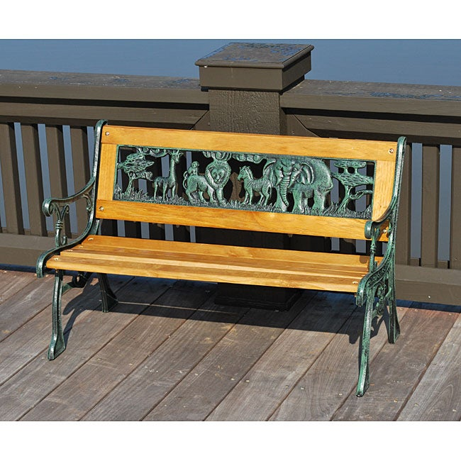 Children 39 S Animal Park Bench Overstock Shopping Great Deals On Outdoor Benches