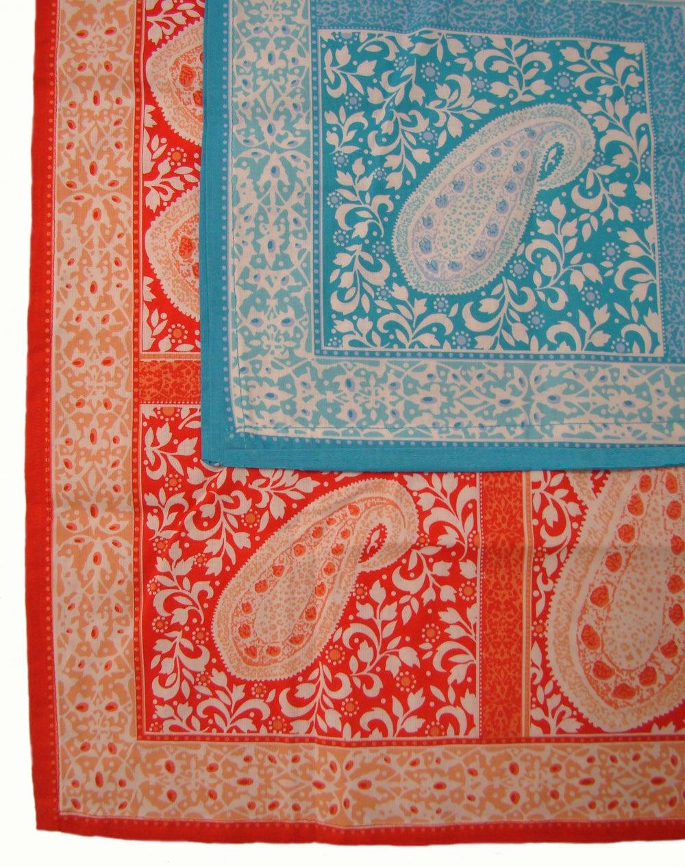 Global Paisley Tablecloth