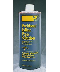 Medline 1-gallon Povidone/ Iodin Scrub Solution (Pack of 4)