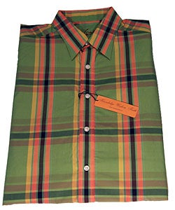 Robert Graham Green 'Ricky' Long Sleeve Shirt