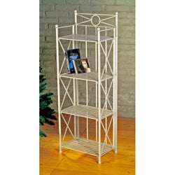 Narrow 4-tier Indoor/ Outdoor Baker's Rack