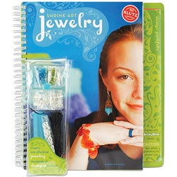Klutz Shrink Art Jewelry 225-design Craft Kit with Instructional Book